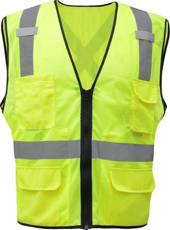 71d23efa867 Premium Class 2 Utility Safety Vest w X Back